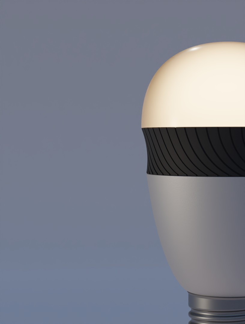 SMART BULB COLLECTION Led Smart Bulbs by ALOS. Product Design Studio.