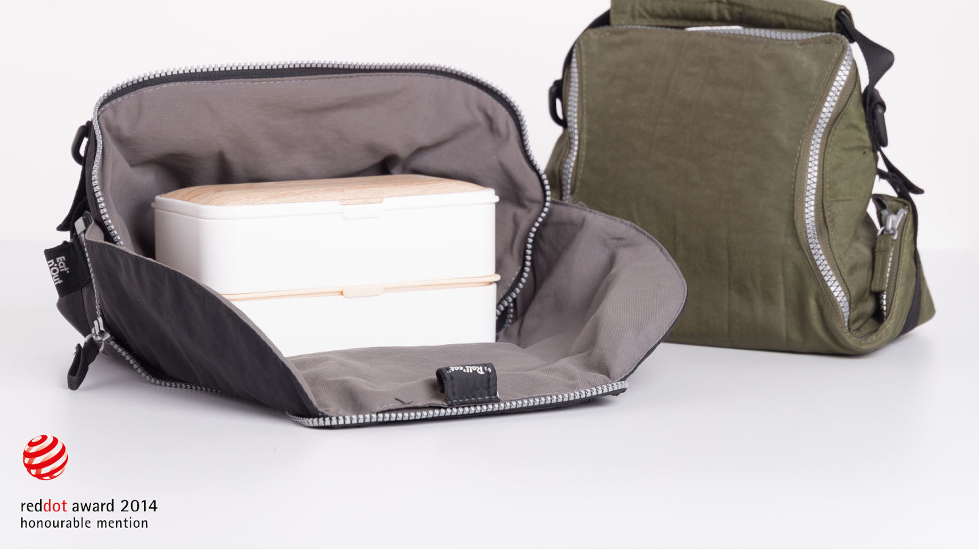 EAT'N'OUT Lunch Box Bag by ALOS. Product Design Studio.