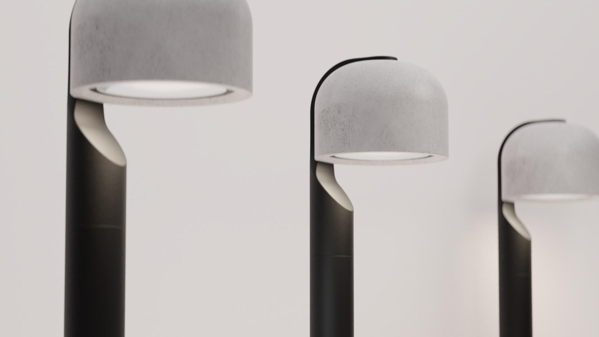 PEBBLE Outdoor Lighting by ALOS. Product Design Studio.