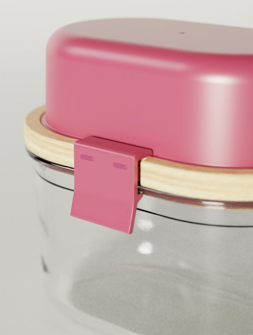 YOGURT AND BITES Yogurt carrier by ALOS. Product Design Studio.